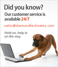 Our customer service is available 24/7. E-mail us at: sales [at] diamondtechsales.com.